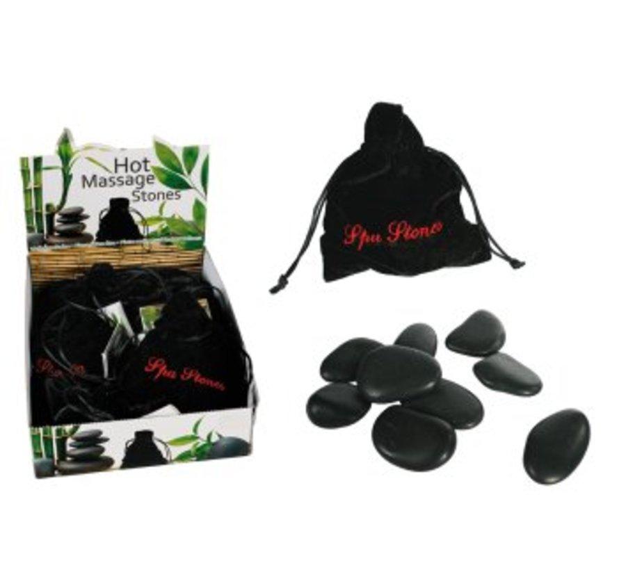Wellness hot stones massage set