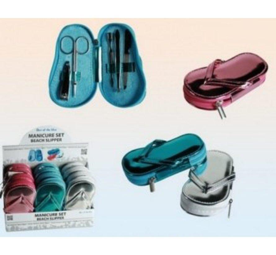 Manicure set slipper