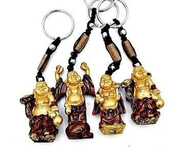 Sleutelhanger lachende boeddha