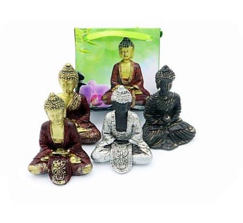 Thaise Boeddha in cadeau tasje met kaartje