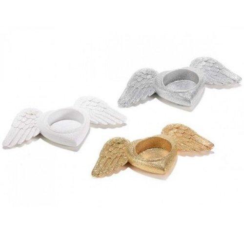 Theelichthouder vleugels