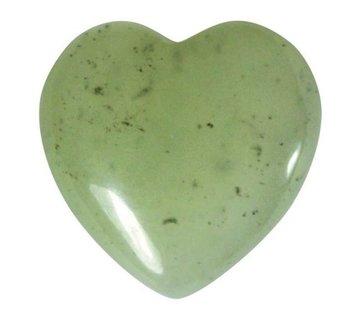 Hart Chinese jade klein 1,5 cm