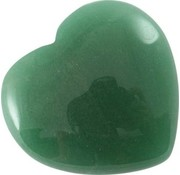 Hart Aventurijn groen 1,5 cm