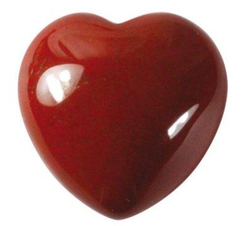 Hart rode jaspis 1,5 cm