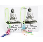 Thaise geluks boeddha op kaartje 10 stuks