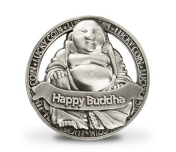 Geluksmunt Happy Buddha