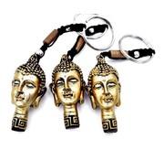 Sleutelhanger boeddha hoofd