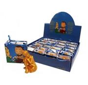 Boeddha zittend in tasje met kaartje