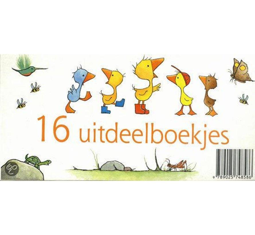 Gonnie en vriendjes uitdeelboekjes 16 stuks