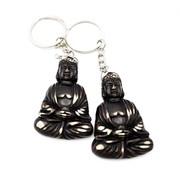 Sleutelhanger Thaise boeddha bruin