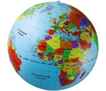 Opblaasbare wereldbol 50 cm