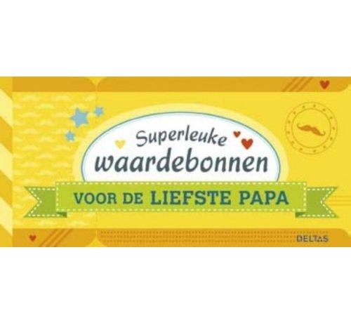 Superleuke waardebonnen voor de liefste papa