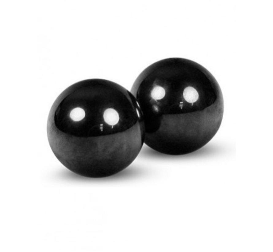 Hematiet magneet bol - set van 2