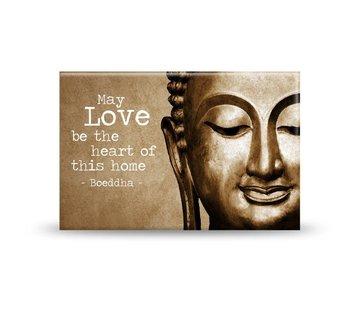 Magneet love home boeddha