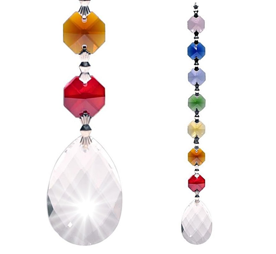 Regenboog kristal Amrita