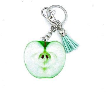 Sleutelhanger of tashanger met appel