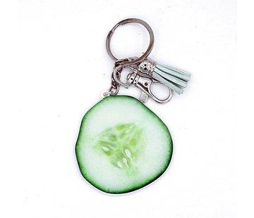 Sleutelhanger of tashanger komkommer