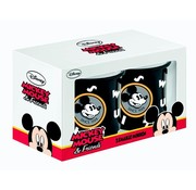 MIickey mouse emaille mugs (set van 2)