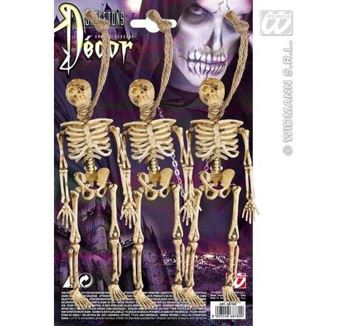 Skelet 3 stuks 15 cm
