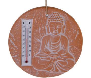 Boeddha met thermometer