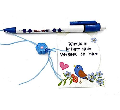 Pen vergeet mij nietje