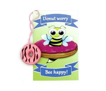 Kaartje donut worry