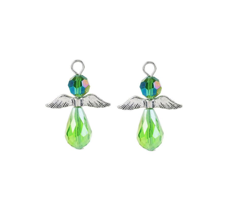 Engel hanger groen
