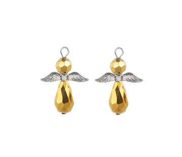 Engel hanger goudkleurig