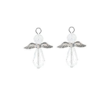 Engel hanger kristal kleur
