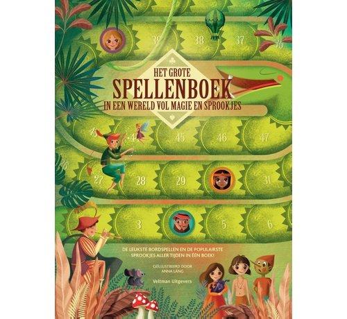 Het grote spellenboek in een wereld vol magie en sprookjes