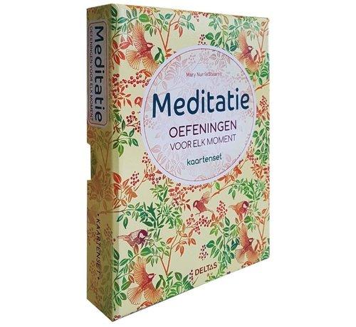 Meditatie oefeningen voor elke dag Kaartenset