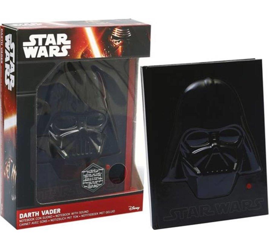 Notitieboek Star Wars Darth Vader met geluid