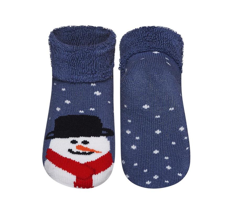 Kerstsokken sneeuwman voor kinderen