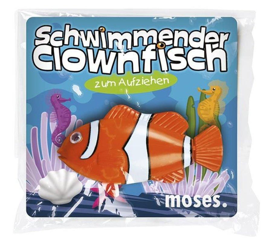 Opwindfiguur zwemmende clownvis