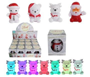 Kerstfiguren met ledlicht