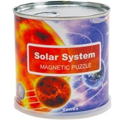Solar System puzzle magnetic