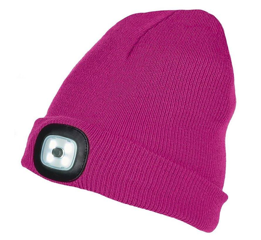 LED muts roze