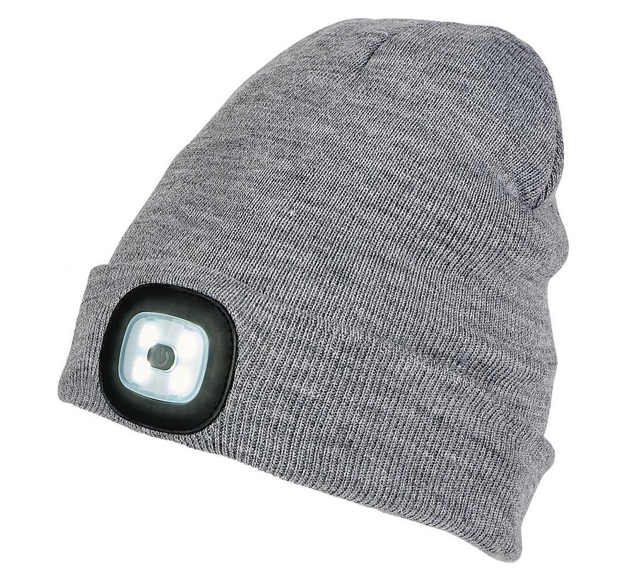 LED muts grijs