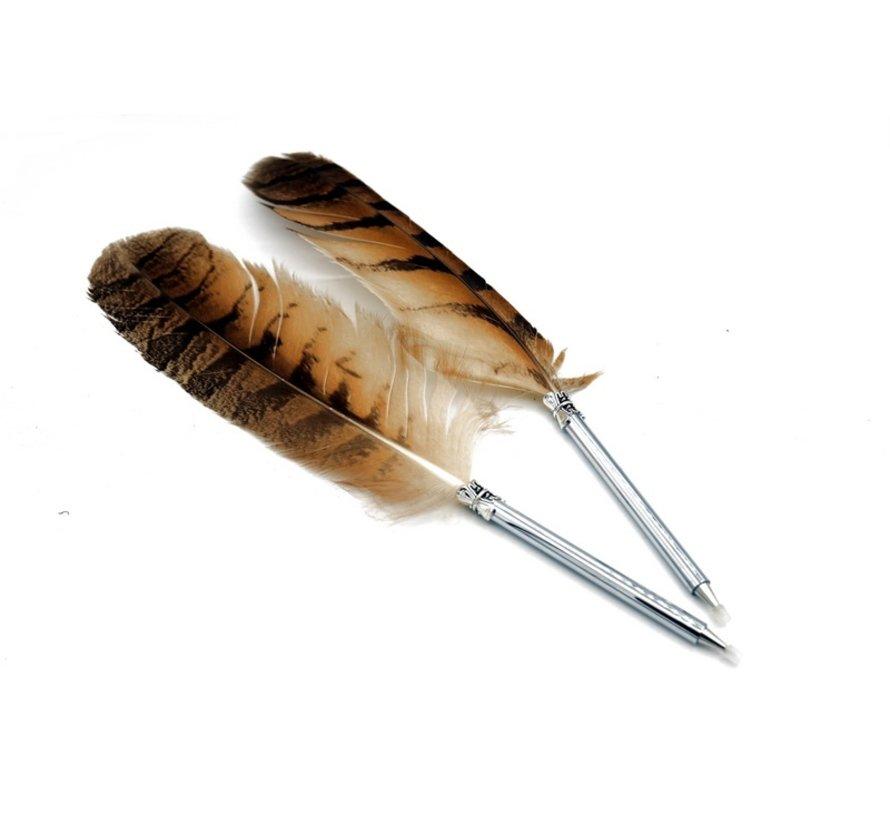 Antique Ballpoint Pen uil veer