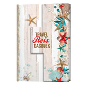 Travel reisdagboek strand