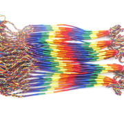 Geluksarmband regenboog