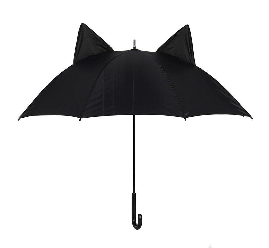 Paraplu zwarte kat