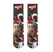 Xmas Sock Dogs 42-45