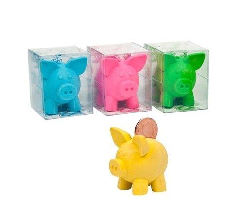 Spaarvarken gum 4 stuks
