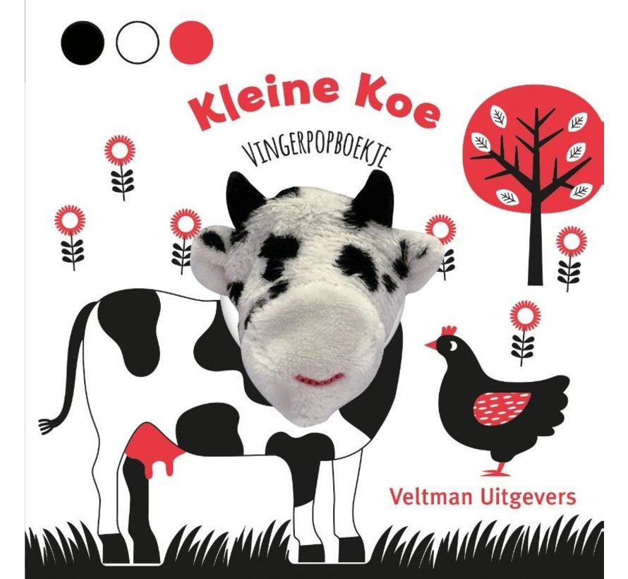 Vingerpopboekje Kleine Koe