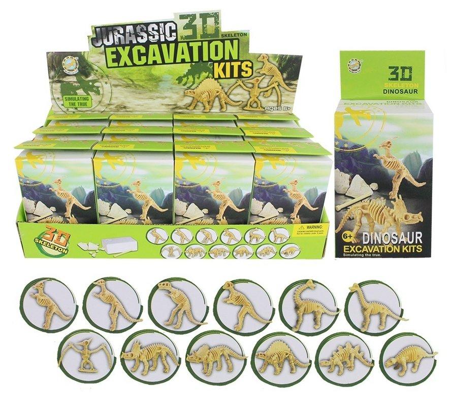 Opgraving set Dinosaurus