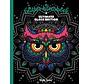 Glitter kleurboek Ultimate black Edition Night Forest