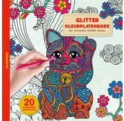 Glitter kleurplaten boek - Happiness