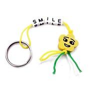Sleutelhanger smiley smile