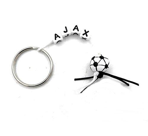 Sleutelhanger voetbal Ajax